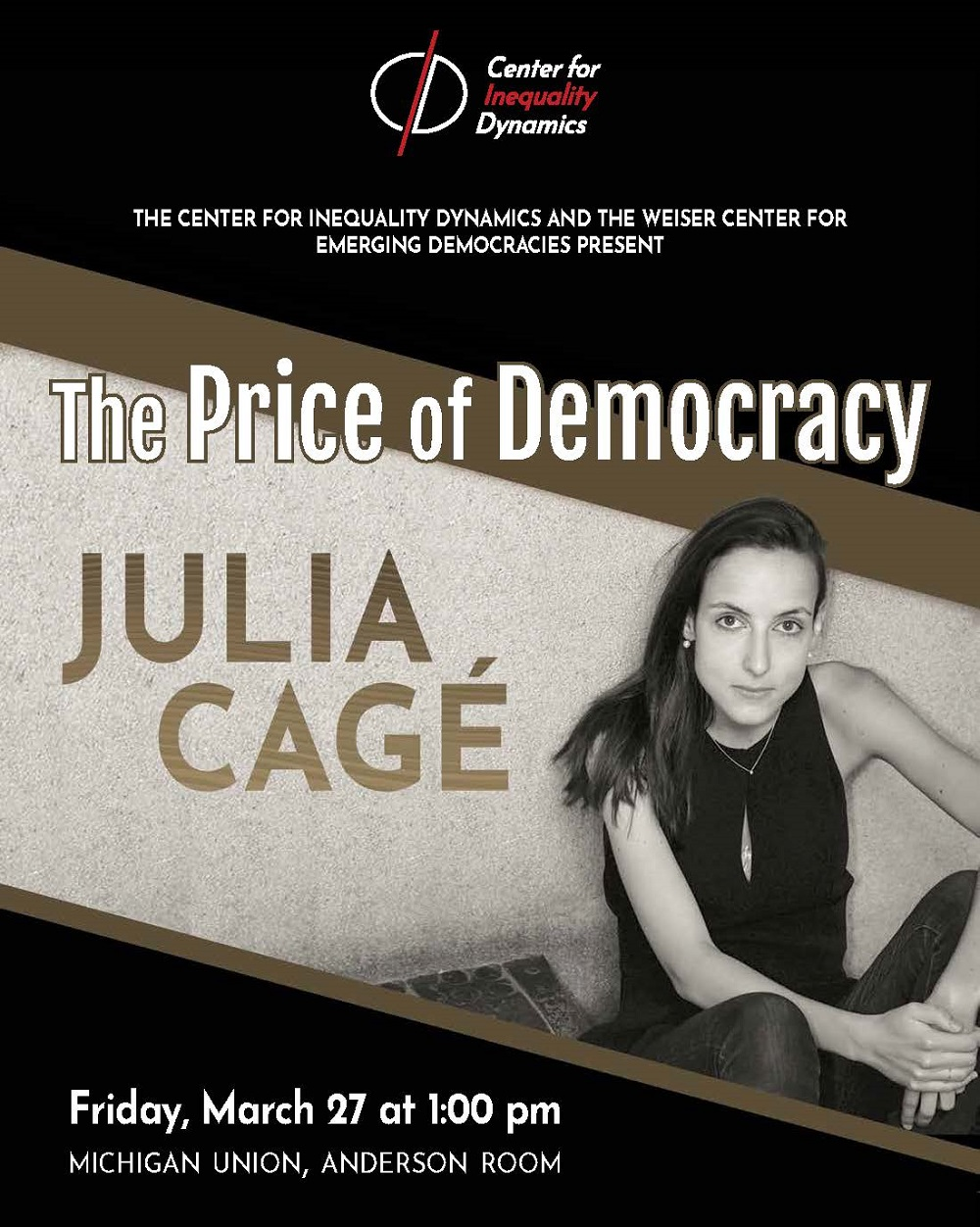 Poster for Julia Cagé: The Price of Democracy