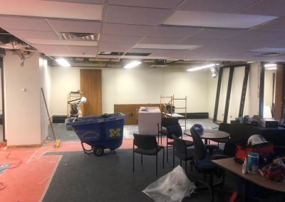 View of newly created collaboration space